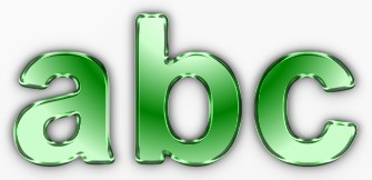 Green Metallic Text Effect 8