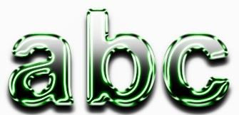 Green Metallic Text Effect 9