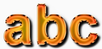 Orange Metallic Text Effect 4