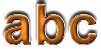Orange Metallic Text Effect 6