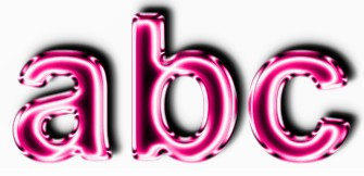 Pink Metallic Text Effect 3