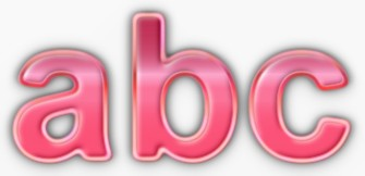 Pink Metallic Text Effect 4
