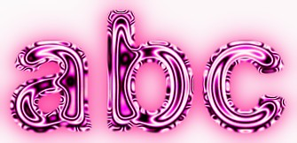 Pink Metallic Text Effect 5