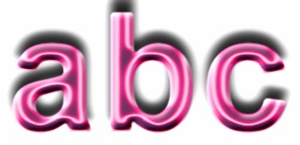 Pink Metallic Text Effect 6