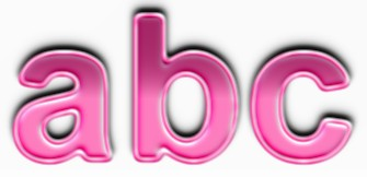 Pink Metallic Text Effect 1