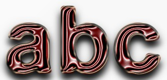 Red Metallic Text Effect 11