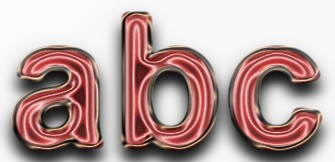 Red Metallic Text Effect 12