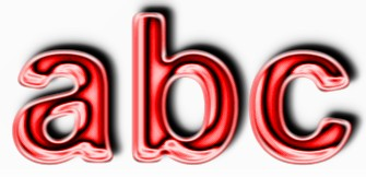 Red Metallic Text Effect 6