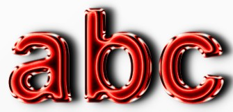 Red Metallic Text Effect 7