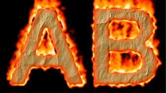 Burning Paper Text Logo Effect 2
