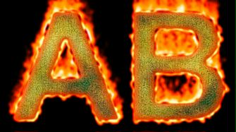 Burning Paper Text Logo Effect 3