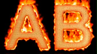 Burning Paper Text Logo Effect 8