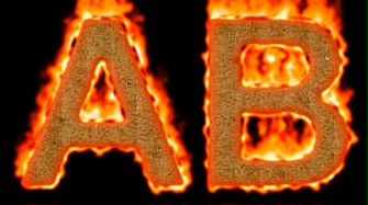 Burning Paper Text Logo Effect 10