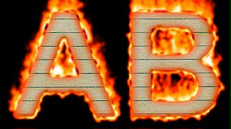 Burning Paper Text Logo Effect 22