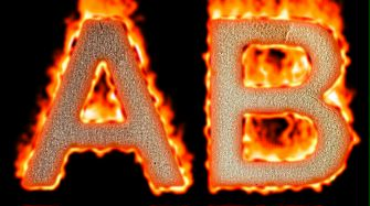 Burning Paper Text Logo Effect 23