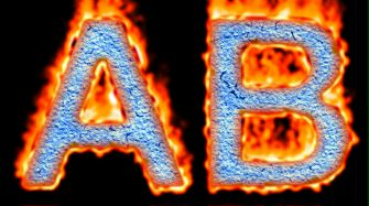 Burning Paper Text Logo Effect 34