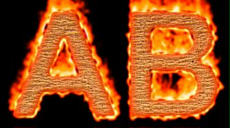 Burning Paper Text Logo Effect 35