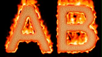 Burning Paper Text Logo Effect 37