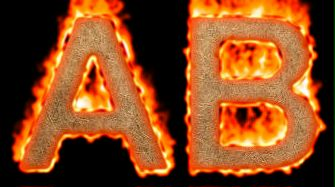 Burning Paper Text Logo Effect 38