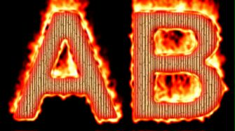 Burning Wood Text Logo Effect 22