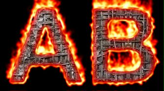 Burning Wood Text Logo Effect 31