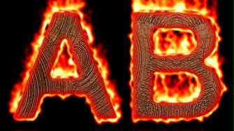 Burning Wood Text Logo Effect 41