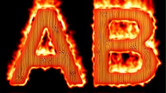 Burning Wood Text Logo Effect 44