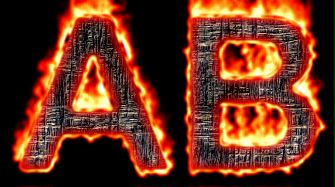 Burning Wood Text Logo Effect 52