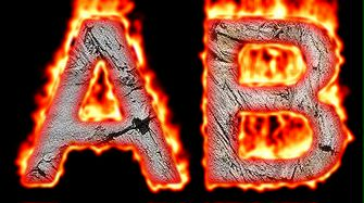 Burning Wood Text Logo Effect 58