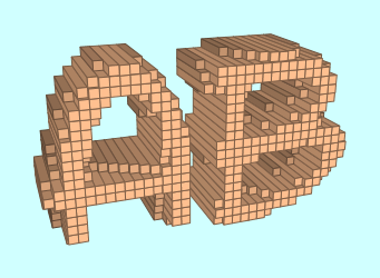 3D Blocks Text Effect 1
