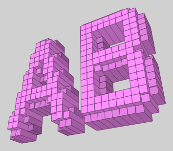 3D Blocks Text Effect 2