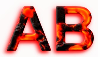 Realistic 3D Lava Text Effect 1