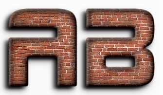 3D Brick Text Effect Generated Online