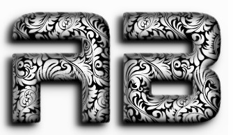 Realistic 3D Decorated Text Effect 2