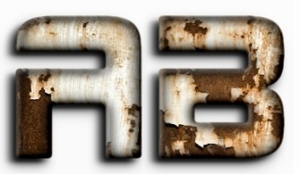 Realistic 3D Rusty Metal Text Effect 12