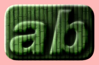 Embossed Bamboo Text Effect 004