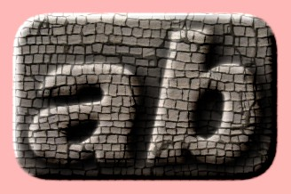 Embossed Brick Text Effect 010