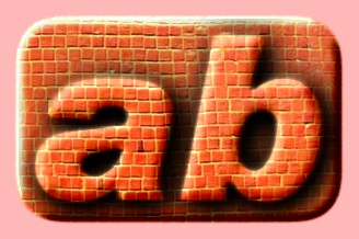Embossed Brick Text Effect 013