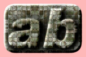 Embossed Brick Text Effect 014