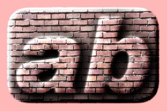 Embossed Brick Text Effect 021