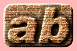 Embossed Brick Text Effect 024
