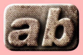 Embossed Brick Text Effect 030