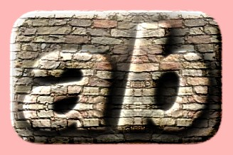 Embossed Brick Text Effect 032