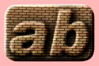 Embossed Brick Text Effect 036