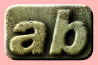 Embossed Concrete Text Effect 001