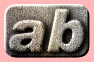 Embossed Concrete Text Effect 003