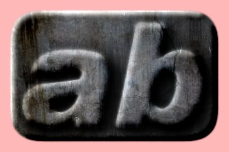 Embossed Concrete Text Effect 009