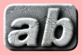 Embossed Concrete Text Effect 010