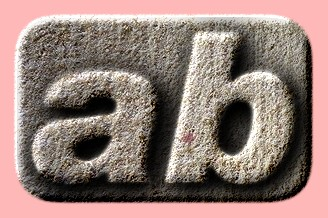 Embossed Concrete Text Effect 018