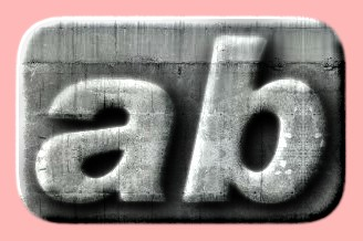 Embossed Concrete Text Effect 019